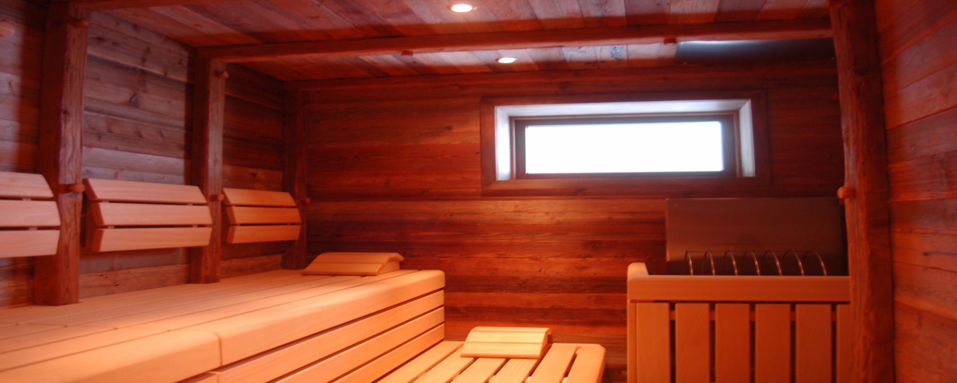 Finnish Sauna at the Biovita Alpi Hotel Sexten Sesto