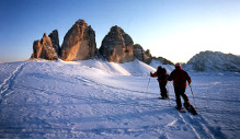 Snowshoes escursions in the Dolomites of Sesto / Sexten