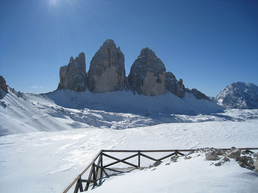 Ski resort and skiing in the Sesto Dolomites South Tyrol