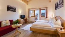 Comfort superior hotel rooms Dolomites with special panoramic view