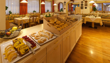 Original southtyrolean cuisine at the Biovita Hotel Alpi Sesto Sexten