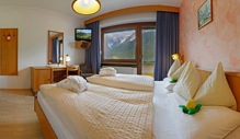 Our standard A rooms at Sesto / Sexten with view to the mountains