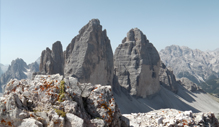 The Unesco natural world heritage Dolomites