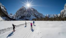 The cross country skiing eldorado in Italy: Sesto / Sexten Southtyrol